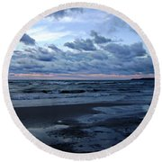 Mystic Round Beach Towel