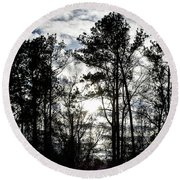 Mystic Wilderness Round Beach Towel