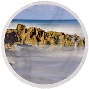 Mystical Round Beach Towel