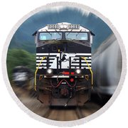 N S 8089 On The Move Round Beach Towel