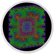 Nadiations Round Beach Towel