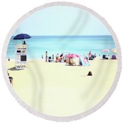 Nags Head Round Beach Towel