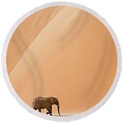 Namibia Round Beach Towel