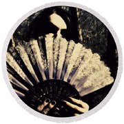 Nancy 2 Round Beach Towel