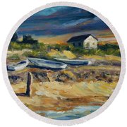 Nantucket Round Beach Towel