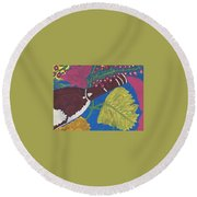 Napa Valley Tastings Round Beach Towel