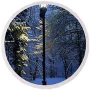 Narnia Round Beach Towel