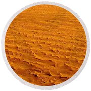 Nasa Image-namib-naukluft National Park-3  Round Beach Towel