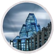National Gallery Of Canada Round Beach Towel
