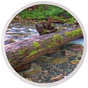 Natural Bridge Round Beach Towel
