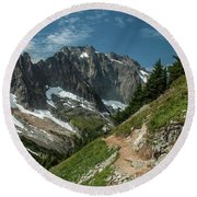 Natural Cathedral Round Beach Towel