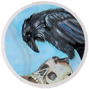 Natural Causes Round Beach Towel
