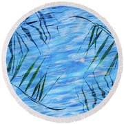 Natural Yin-yang Round Beach Towel