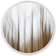 Nature Abstract No. 02 Round Beach Towel