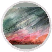 Nature Round Beach Towel