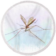 Nature's Art Round Beach Towel