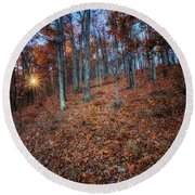 Nature's Carpet Round Beach Towel