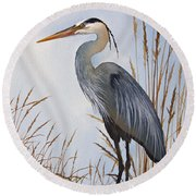 Nature's Gentle Beauty Round Beach Towel