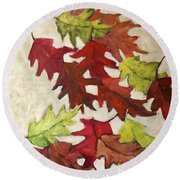 Natures Gifts Round Beach Towel