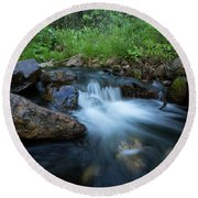 Nature's Harmony Round Beach Towel by Sue Cullumber