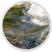 Nature's Magic Round Beach Towel