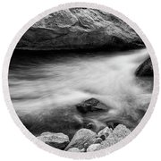 Round Beach Towel featuring the photograph Nature's Pool by James BO Insogna