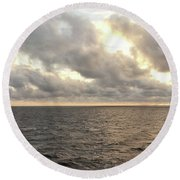 Round Beach Towel featuring the photograph Nature's Realm by Robert Knight