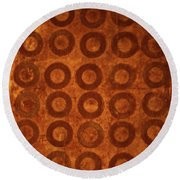 Negative Space Round Beach Towel by Cynthia Powell