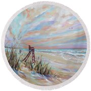 Neptune Lifeguard Chair Round Beach Towel