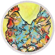 Nesting Round Beach Towel