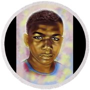Never Forget Trayvon Round Beach Towel
