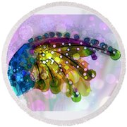 New Composition  Round Beach Towel