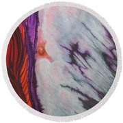 New Earth Round Beach Towel