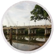 New Jubilee Bridge Round Beach Towel