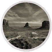 Monument Valley 9 Round Beach Towel