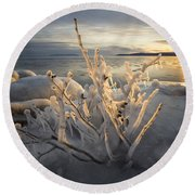 New Year's Eve, Inspiration Bay Round Beach Towel