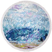 Newport Wedge Round Beach Towel