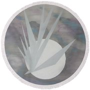 Night Hawke 2 Round Beach Towel