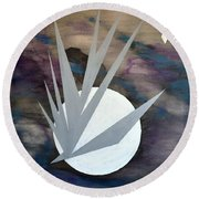Nighthawke 2 Round Beach Towel