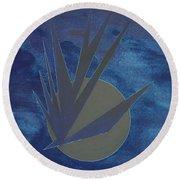 Nighthawke Variation Round Beach Towel by J R Seymour