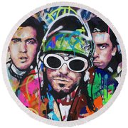 Nirvana Round Beach Towel
