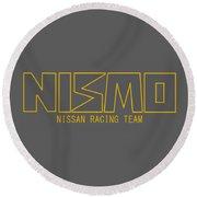 Nismo Round Beach Towel