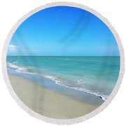 No Caption Needed Round Beach Towel
