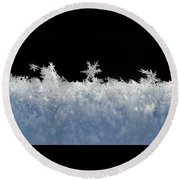 No Two Exactly Alike Round Beach Towel