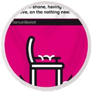 No015-my-murphy-book-icon-poster Round Beach Towel