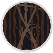 No476 My The Blair Witch Project Minimal Movie Poster Round Beach Towel