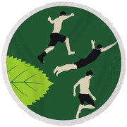 No865 My The Kings Of Summer Minimal Movie Poster Round Beach Towel