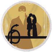 No877 My The Princess Bride Minimal Movie Poster Round Beach Towel