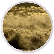 Nor'easter  Round Beach Towel