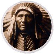 North American Indian Series 2 Round Beach Towel
